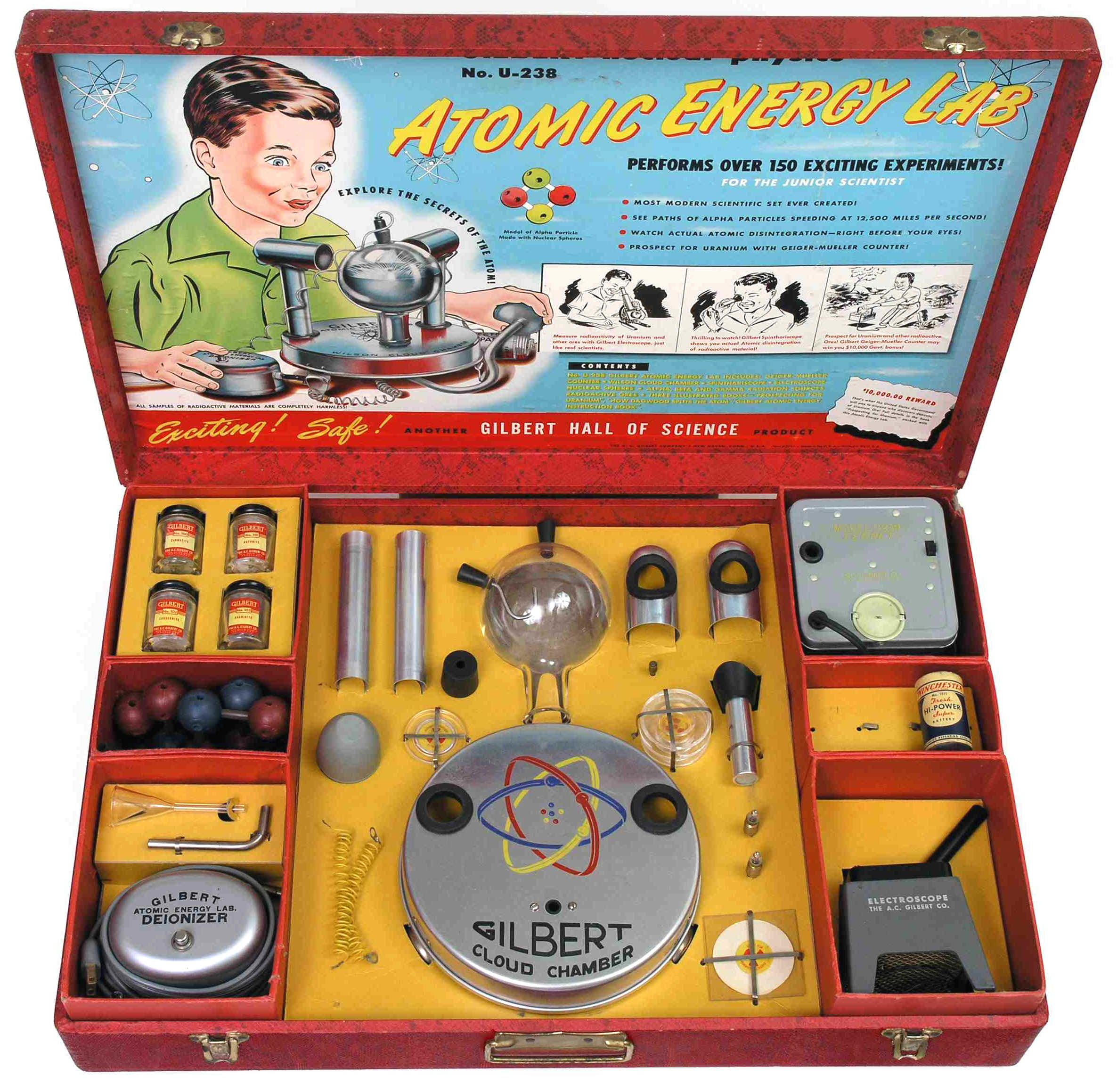 "Atomic Energy Lab from ""Crazy Business Ideas"""