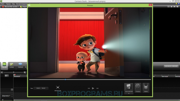 Camtasia Studio русская версия для Windows 10, 7, 8, Xp, Vista