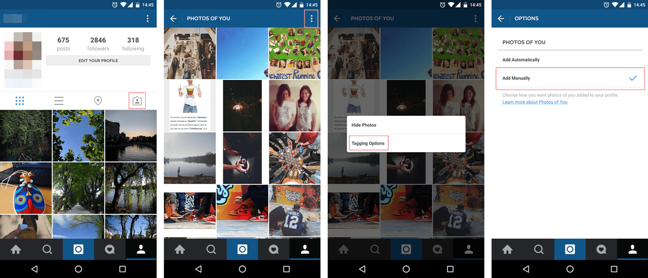 Instagram security how to add photo tags manually 1