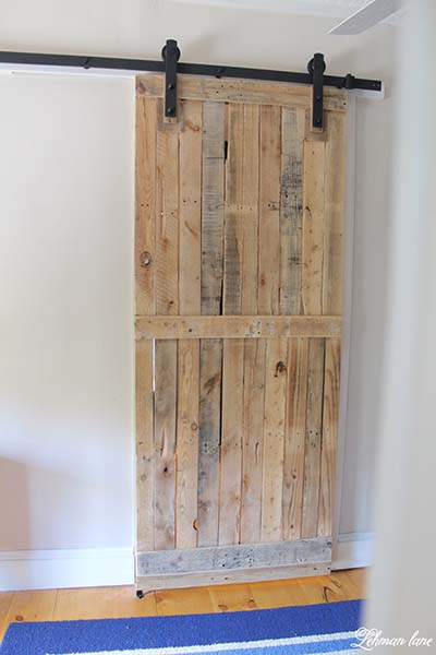 Sliding Barn Door Pallet