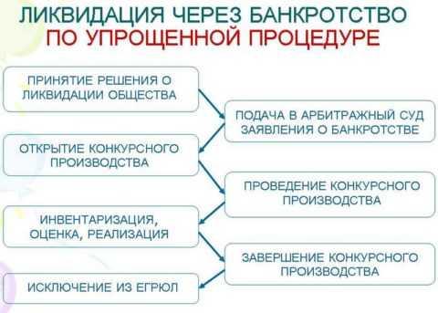 отличие ликвидации от банкротства банка